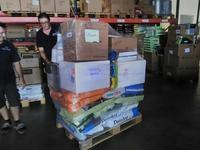 Shipment of veterinary supplies and animal feed to Saint martin (F. Leveque, Guadeloupe)