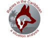Logo of the CaribVET rabies group © V. Lodie, CaribVET