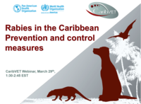 CaribVET webinar on Rabies prevention and control in the Caribbean